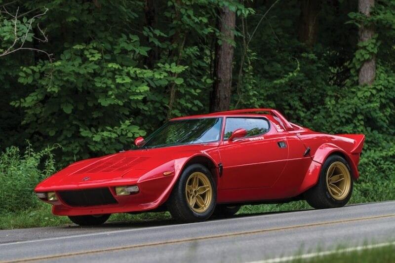 Итальянский Lancia Stratos