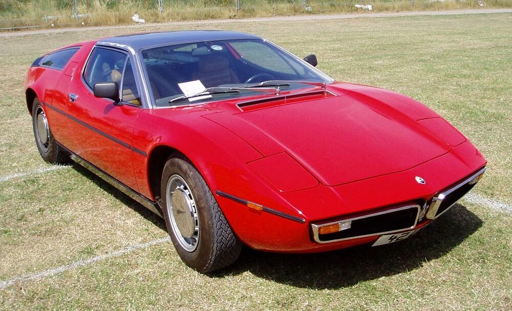 Maserati Bora 1976 года