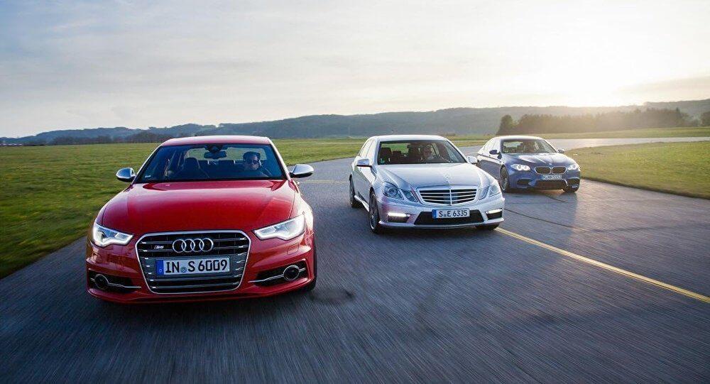 Три немецких автомобиля