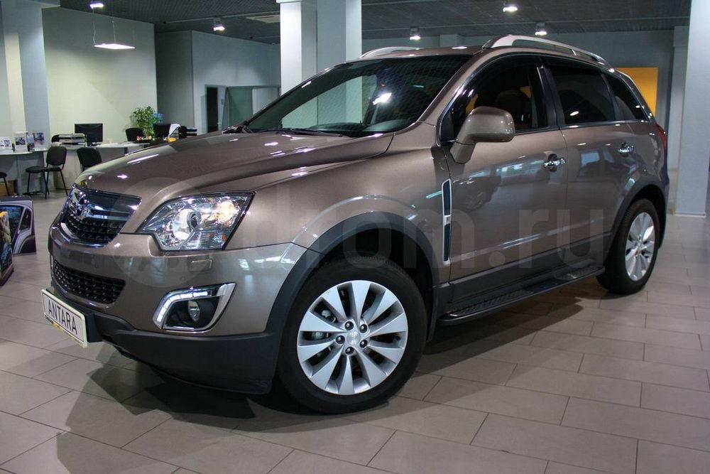 Дизайн Opel Antara