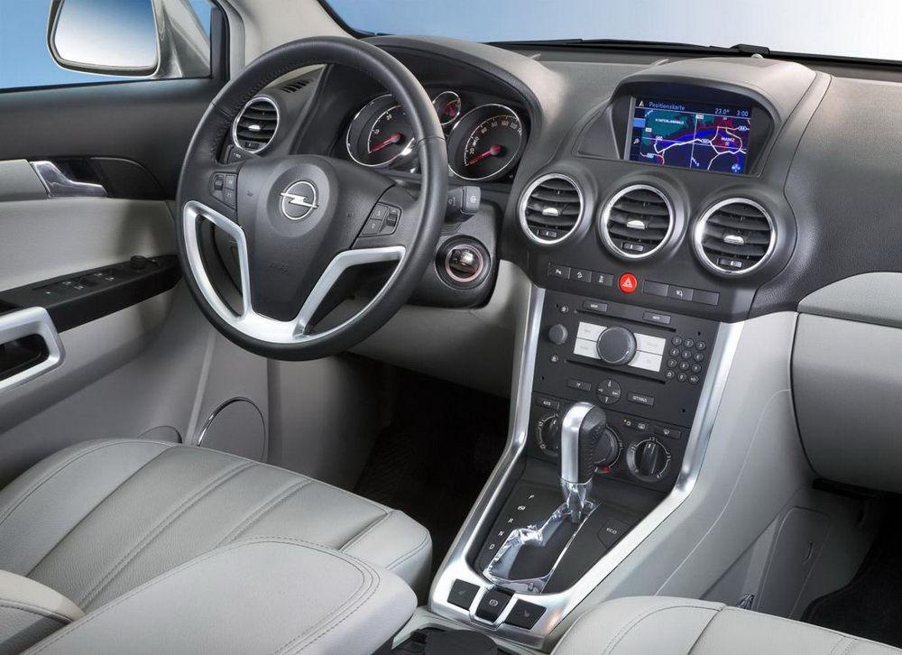 Opel Antara торпедо
