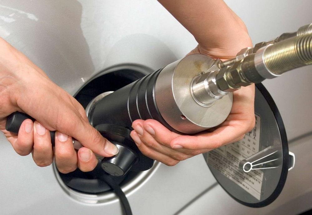 Заправка газом