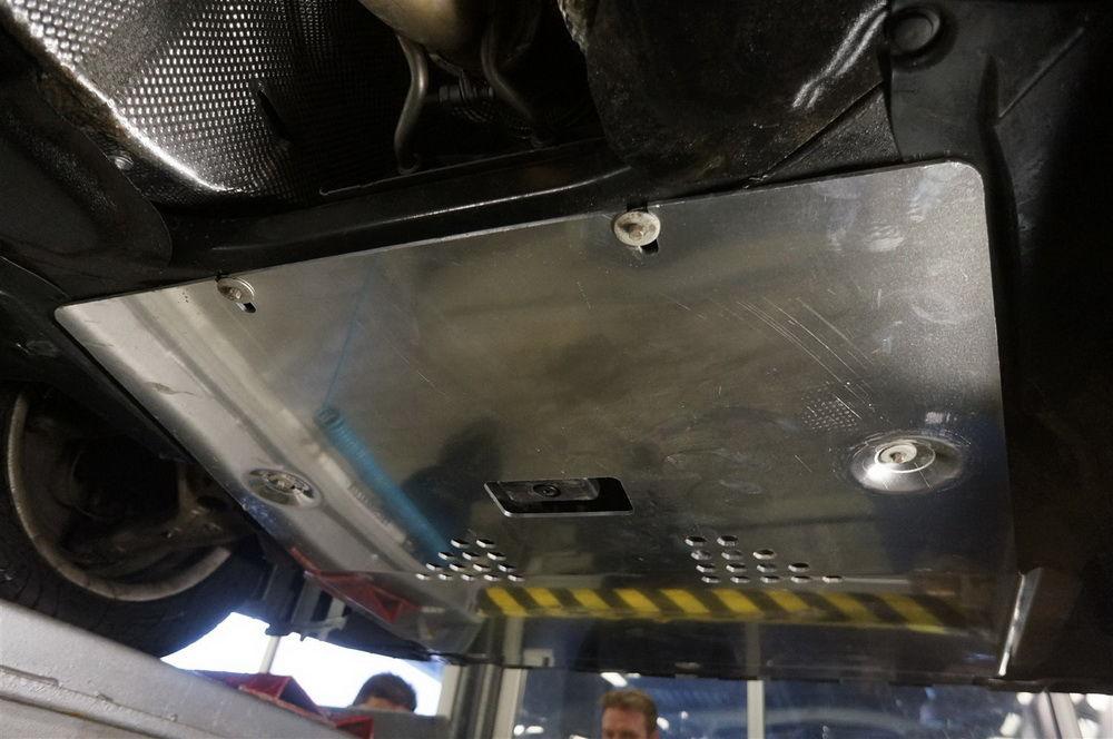 Защита двигателя из алюминия