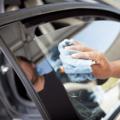 Установка тонировки на стекло автомобиля