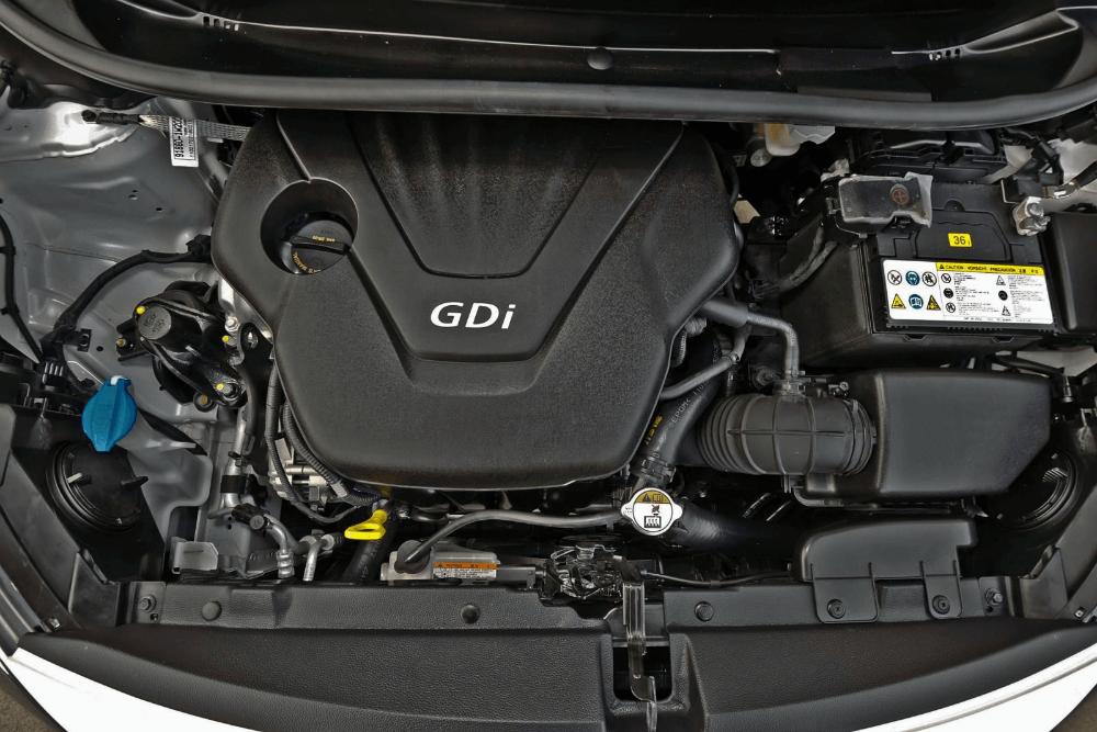 Двигатель автомобиля Киа Рио