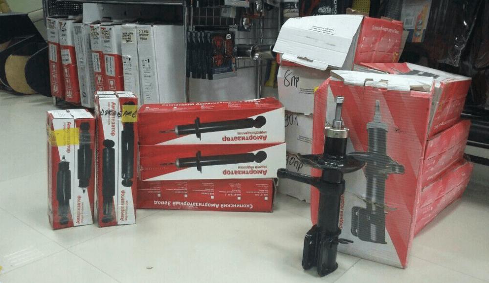 Выбор амотризаторов в магазине