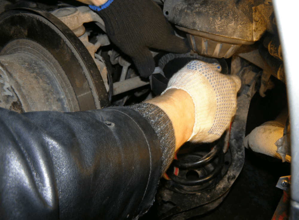 Замена пружин на авто