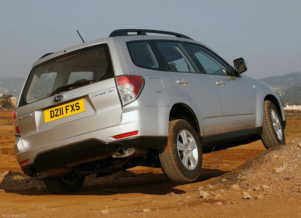 Subaru Forester с высоким клиренсом