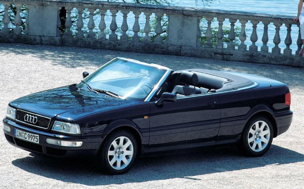 Audi Cabriolet 1991 года