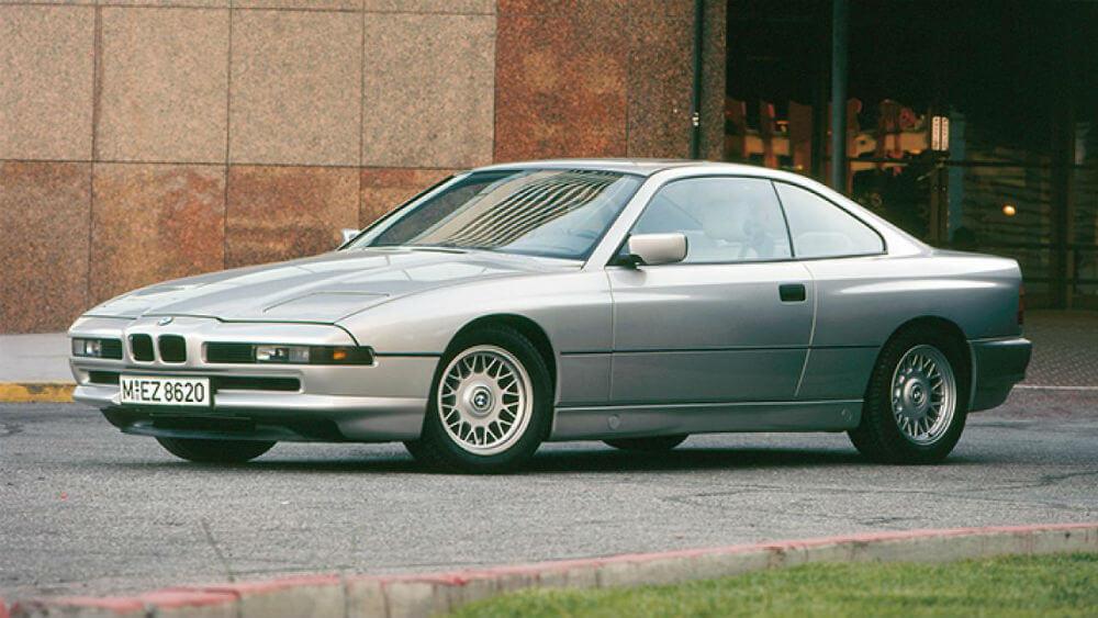 BMW 8-серии 1989 года