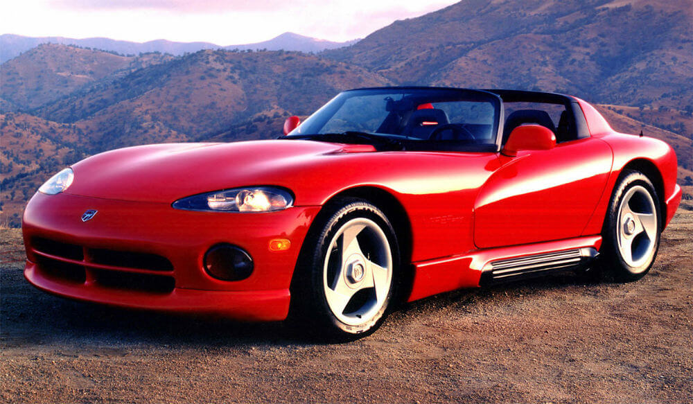 Dodge Viper GTS 1992 года