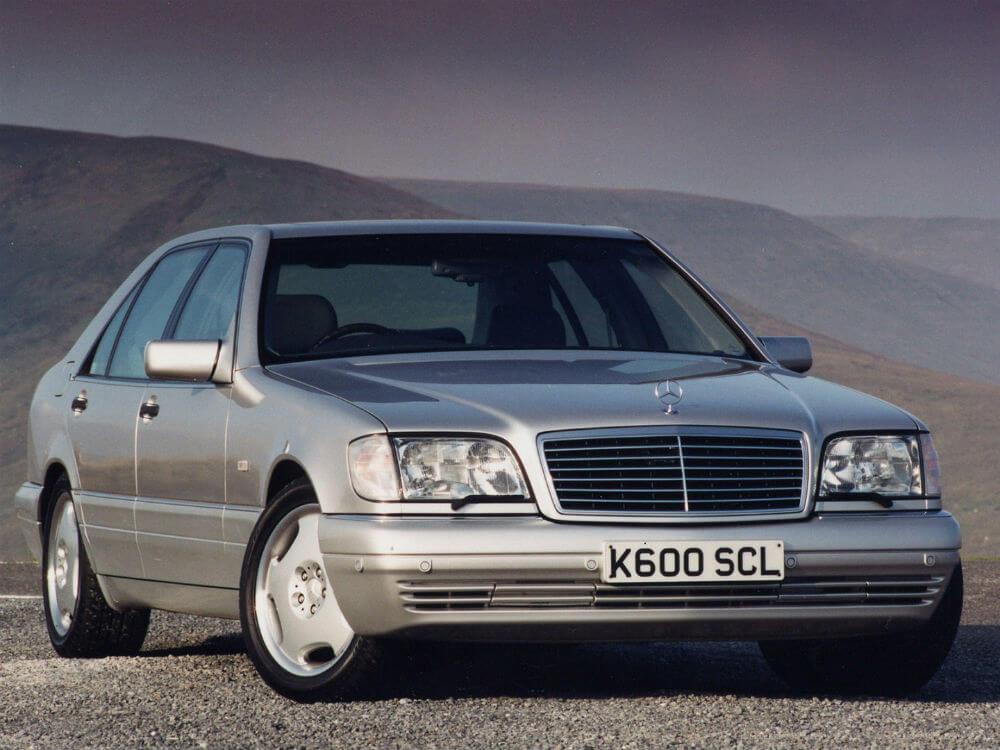 Автомобиль Mercedes-Benz w140 - один из лучших машин 90-х