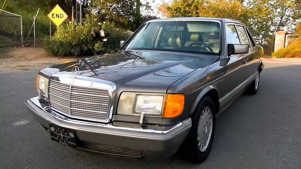 Автомобиль Mercedes Benz