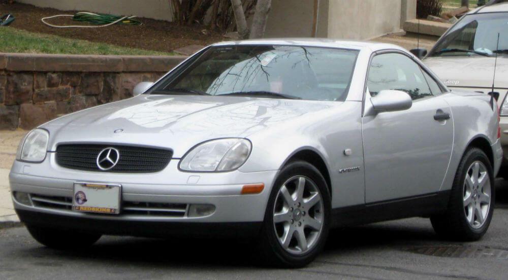 Mercedes SLK 1996 года