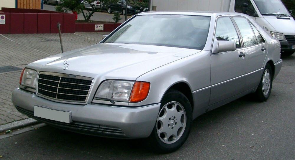 Mercedes W 140 1991 года