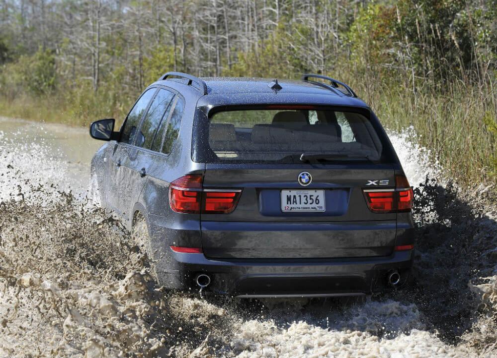 BMW X5 на бездорожье