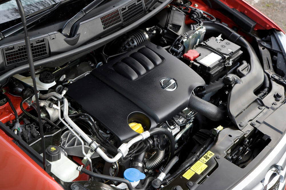 Двигатель Nissan Qashqai