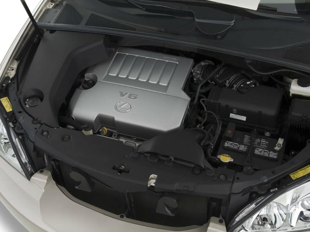 Двигатель lexus rx350