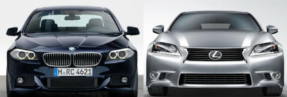 Автомобили BMW и Lexus