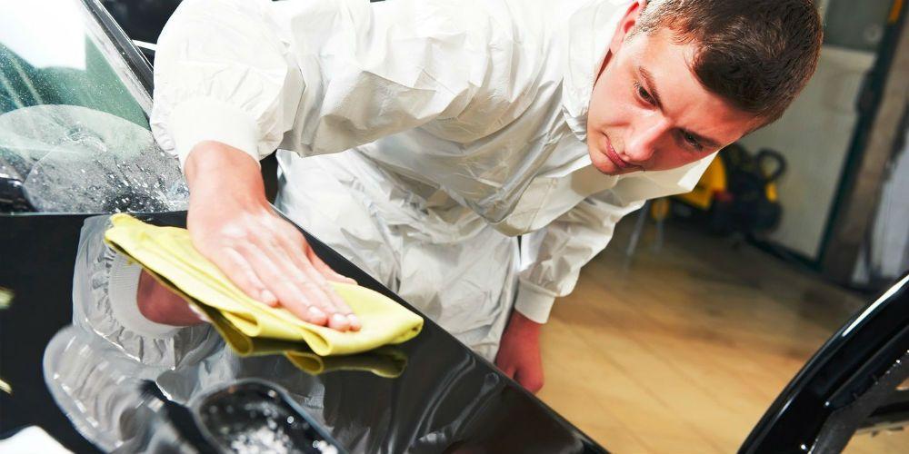 Процесс обработки горячим жидким воском
