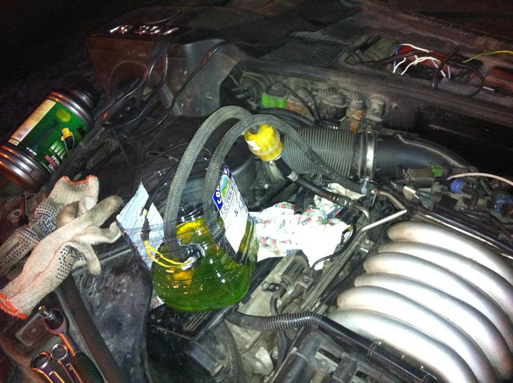 Промывка инжектора авто