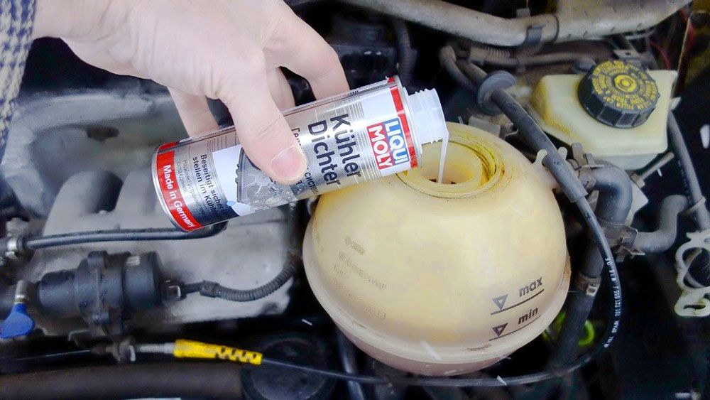 Герметик для системы охлаждения двигателя