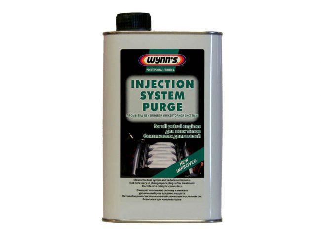 средство для очистки инжектора от Wynn's