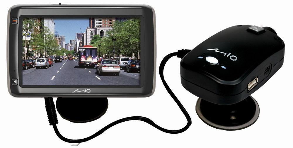 Навигатор с видеорегистратором Mio