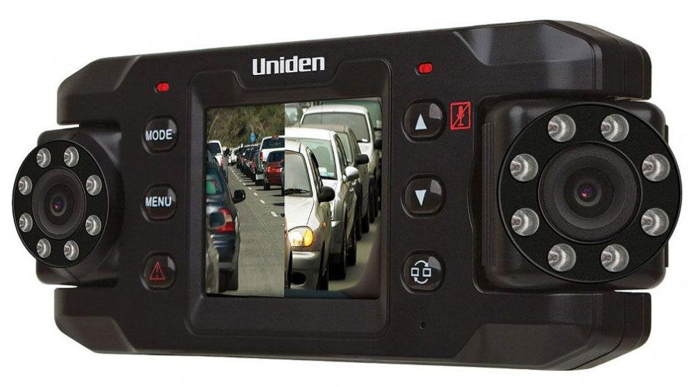Видеорегистратор с двумя камерами Uniden IGo CAM