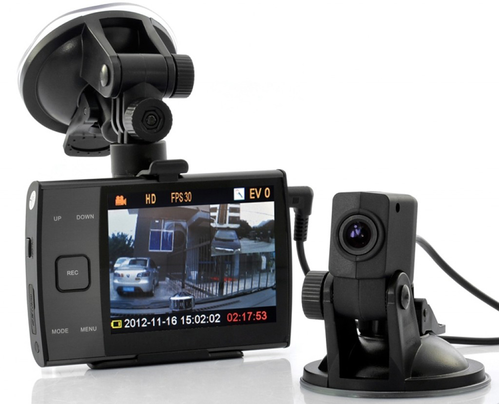 Видеорегистратор с выносной камерой