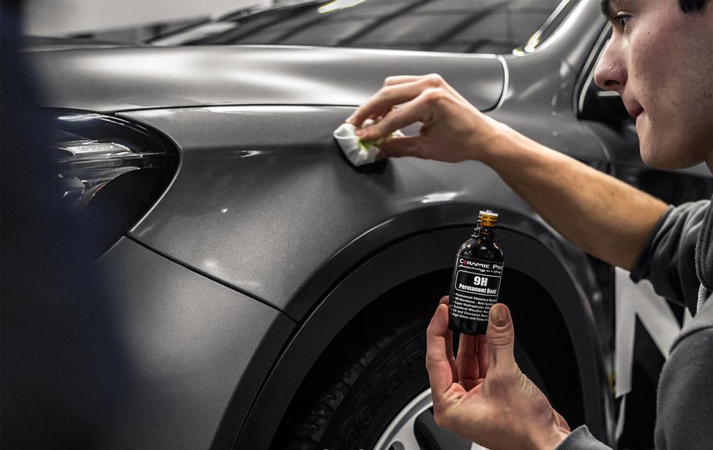 Нанесение нанопокрытия на автомобиль