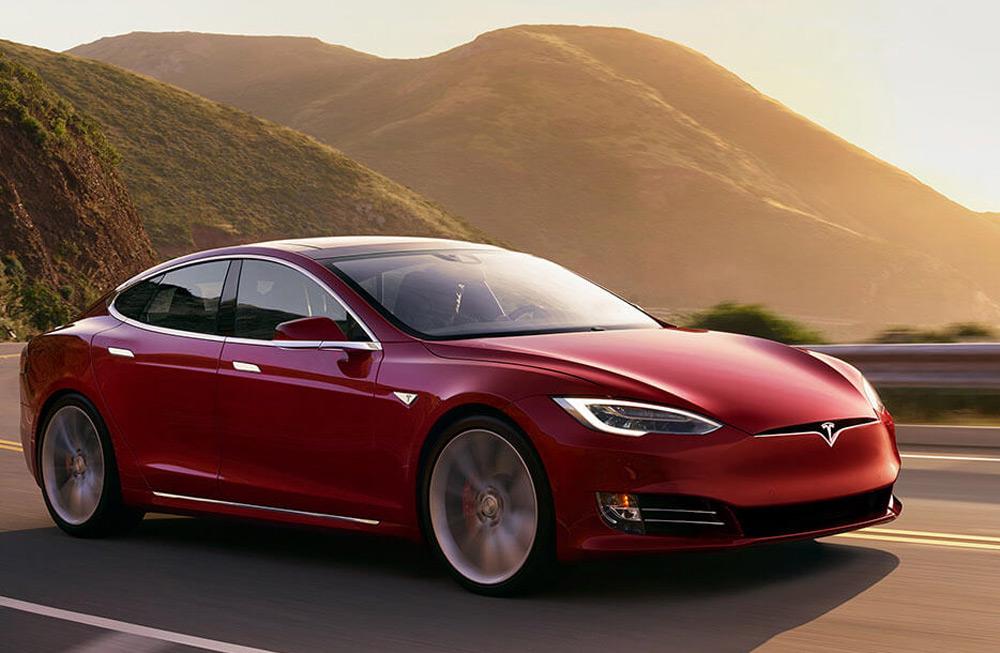 Tesla Model S Автомобиль