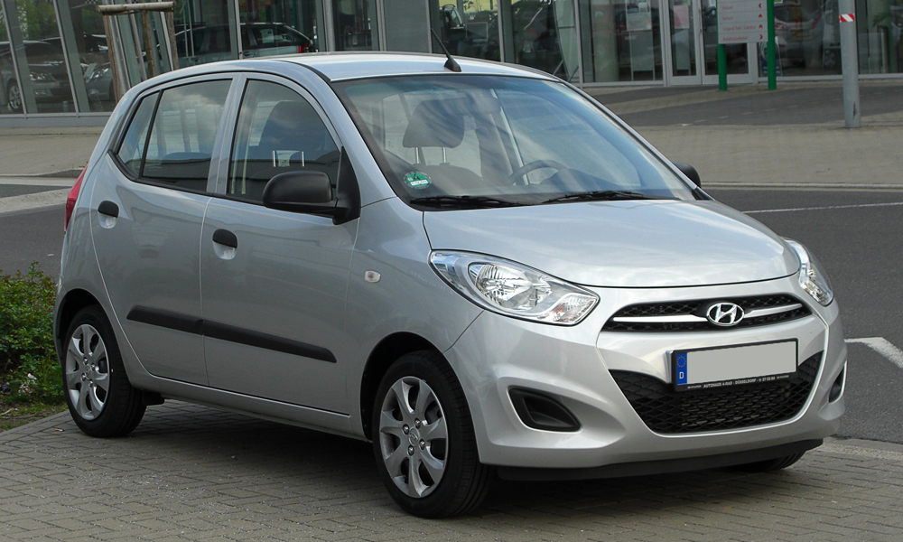 Автомобиль Hyindai i10