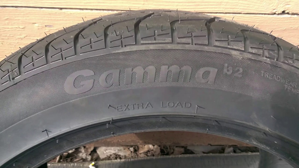 Летные шины Gamma B2