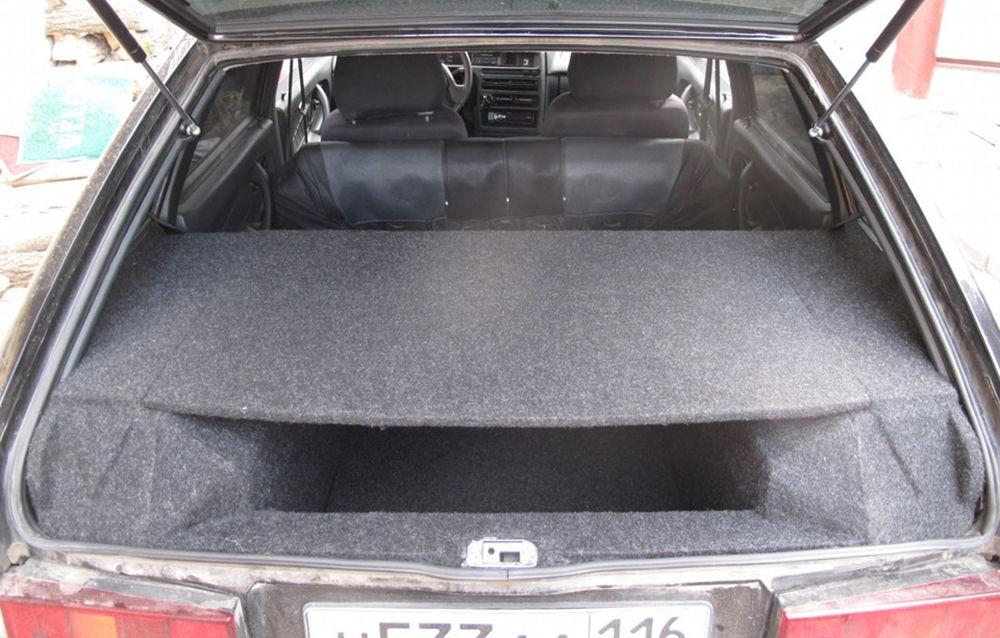 Вместительный багажник ВАЗ-2114
