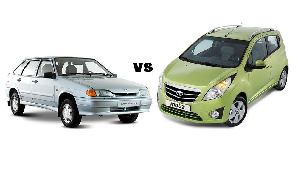 Какой автомобиль выбрать: Daewoo Matiz или ВАЗ-2114