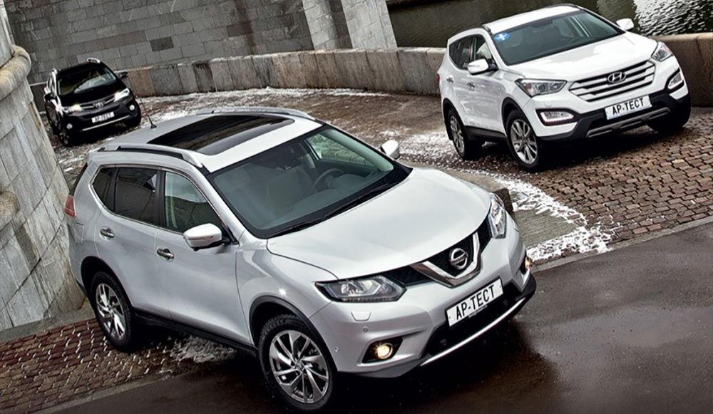 Какой кроссовер выбрать: Hyundai Santa Fe или Nissan X-Trail