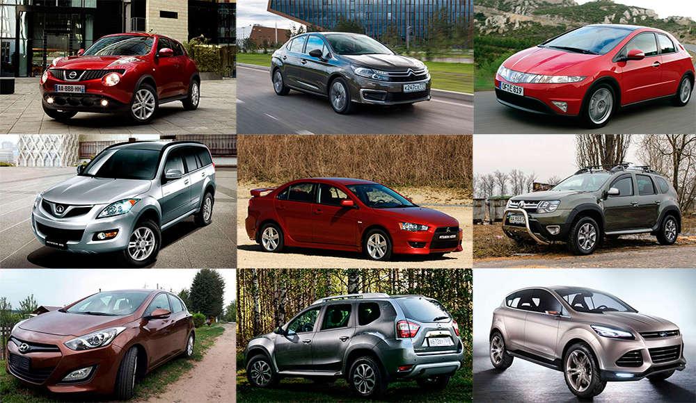 Лучшие автомобили до 1 миллиона рублей