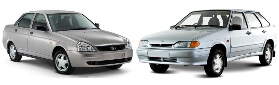 Сравнение автомобилей: ВАЗ-2114 и Лада Приора.