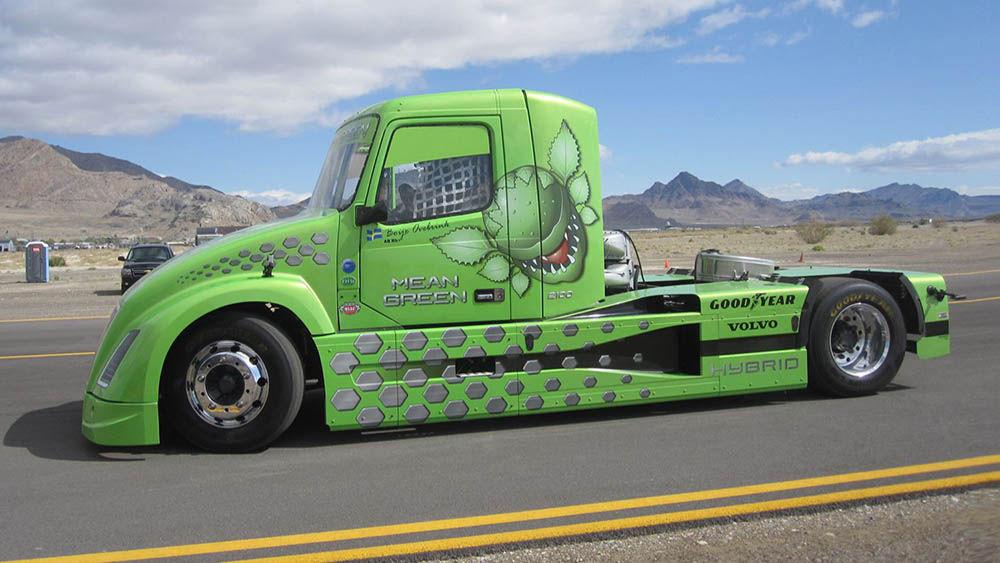 Volvo Mean Green