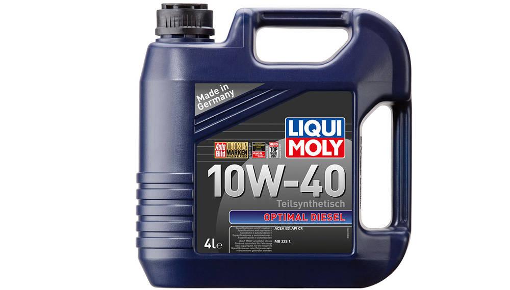 Пример масла для дизельного двигателя