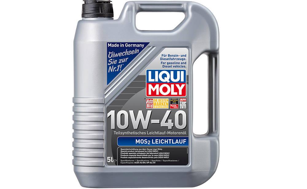 Пример полусинтетического моторного масла