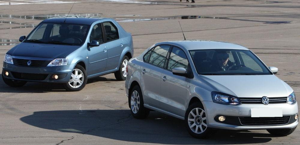 Renault Logan Volkswagen Polo
