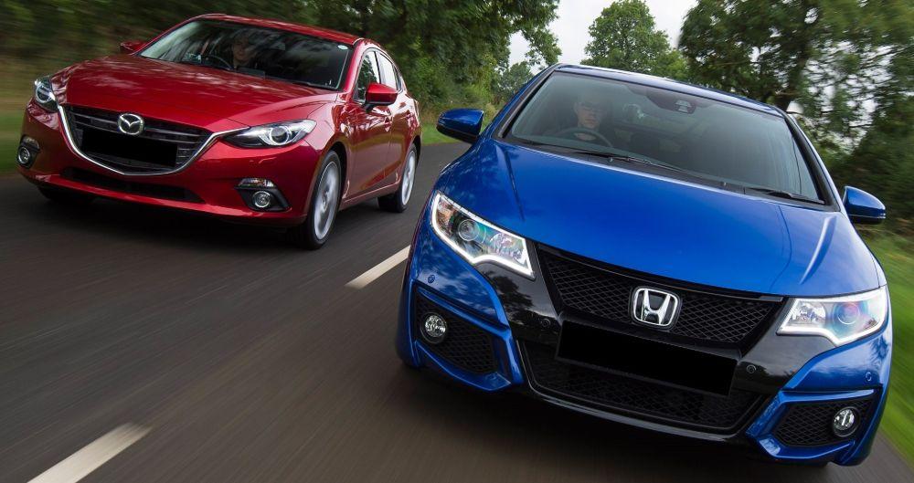 Honda Civic Mazda 3