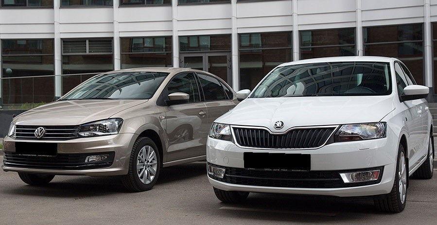 Skoda Rapid Volkswagen Polo