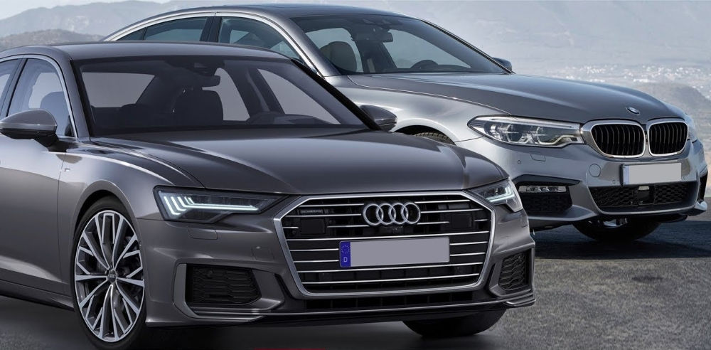 Audi А6 и BMW 5