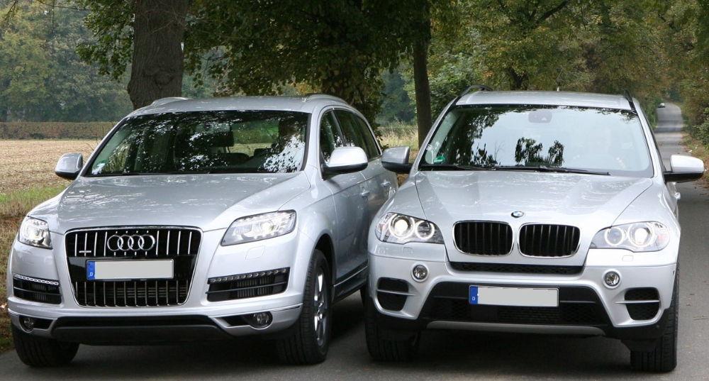 Audi Q7 и BMW X5