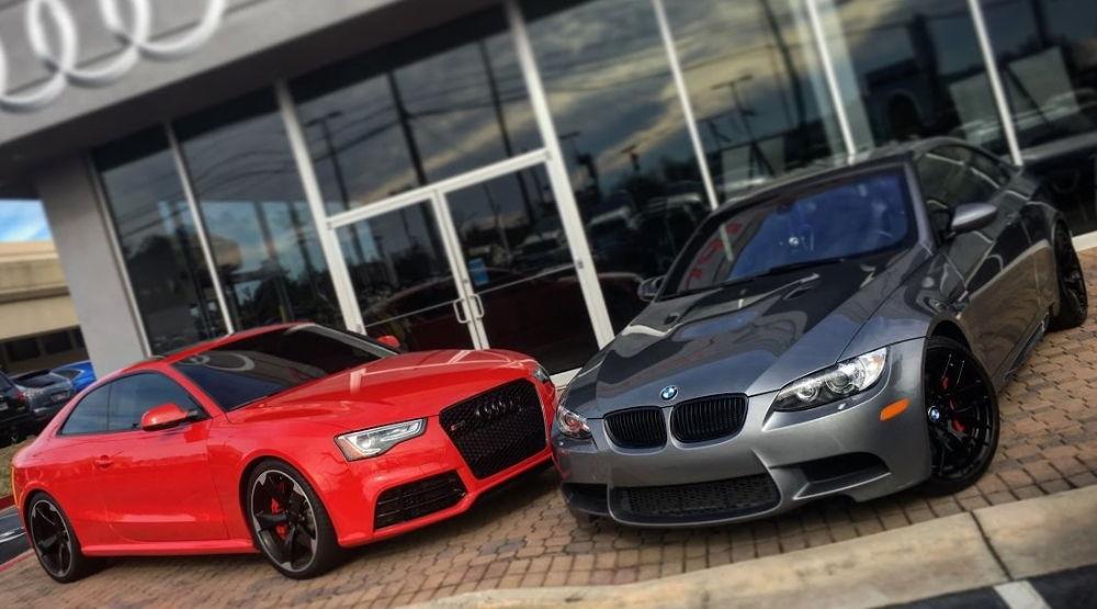Audi RS5 и BMW M3