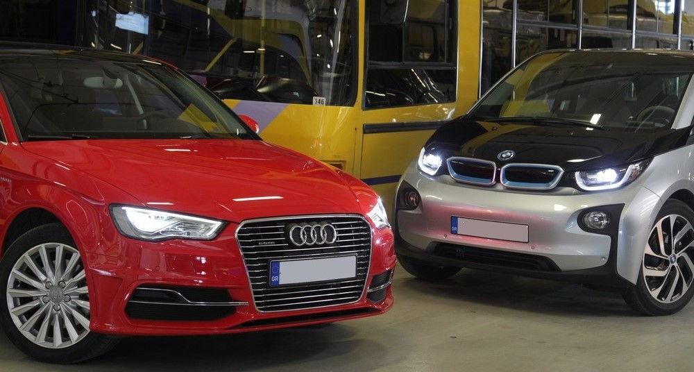 Audi e-Tron и BMW i3