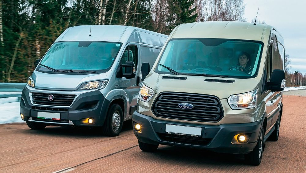 Сравнение новый фиат дукато и форд транзит